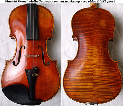 georges apparut violin