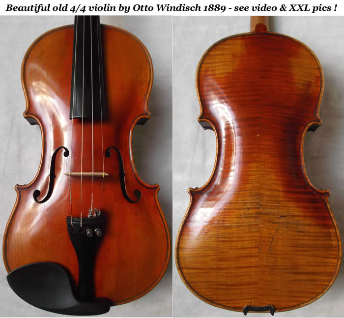 otto windisch violin