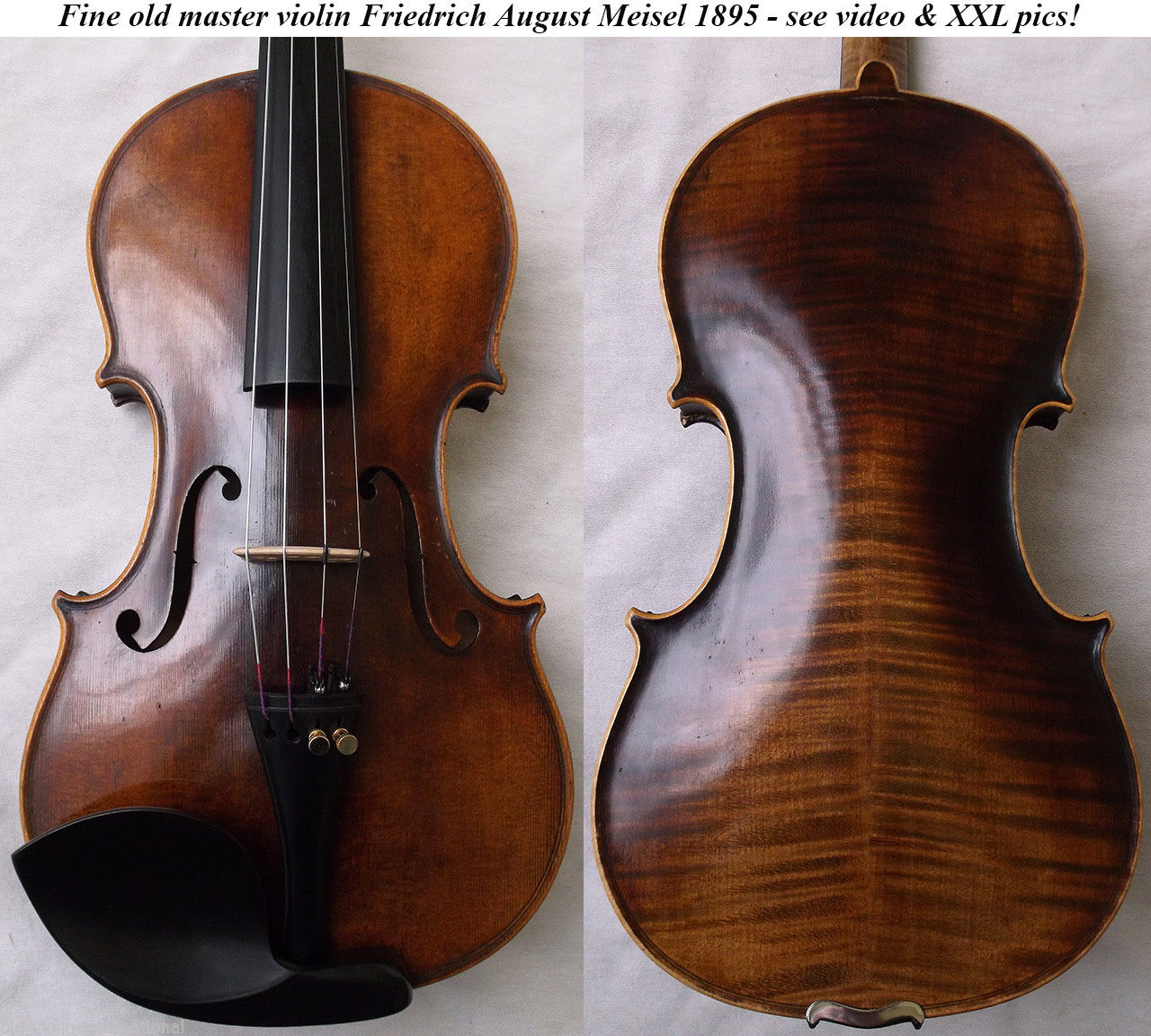friedrich august meisel violin